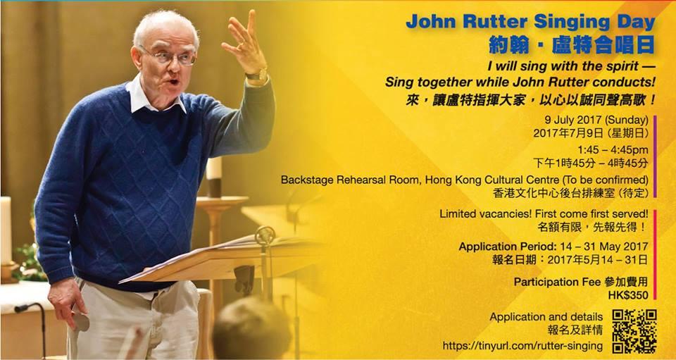 John Rutter Singing Day